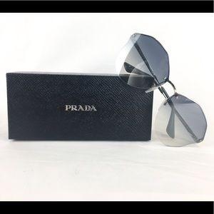 NWT AUTHENTIC Women's Prada Sunglasses PR 64TS
